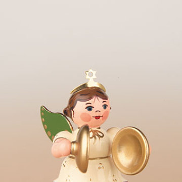 Engel mit Becken 6,5 cm